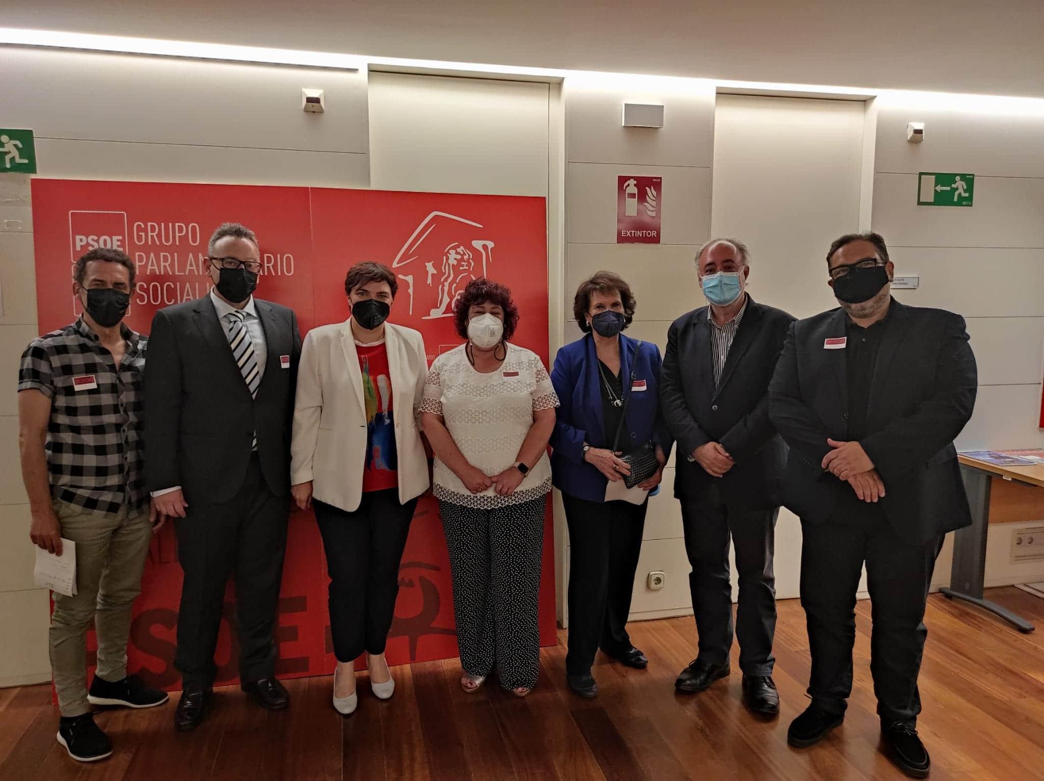reunión grupo parlamentario PSOE