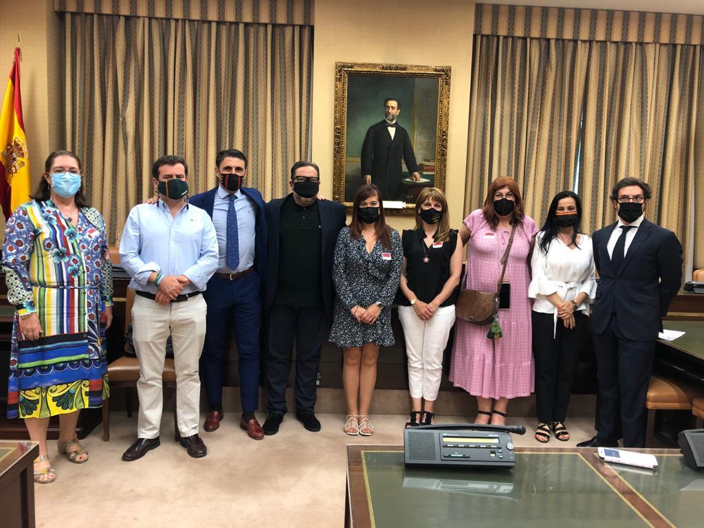 Reunión grupo parlamentario VOX